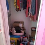 Daughters Closet - Before